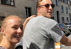 ALLTID GØY SAMMEN: Henny Ella Reistad og storebror Jon Halfdan Reistad. Foto: Privat