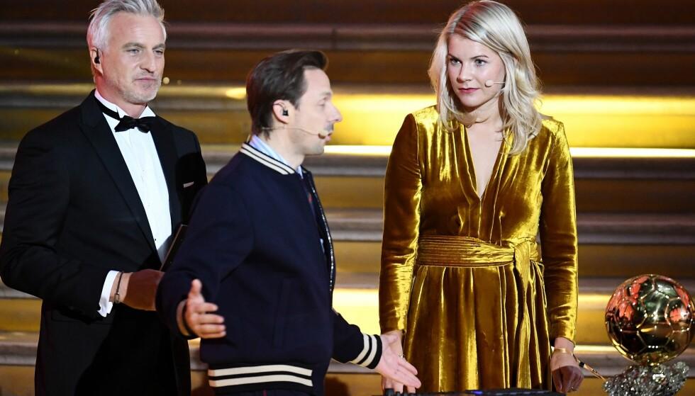 <strong>FÅR HETS:</strong> Martin Solveig er i hardt vær etter at han spurte norske Ada Hegerberg om hun kunne «twerke». Unnskyldningen hans faller heller ikke i god jord. Foto: NTB Scanpix