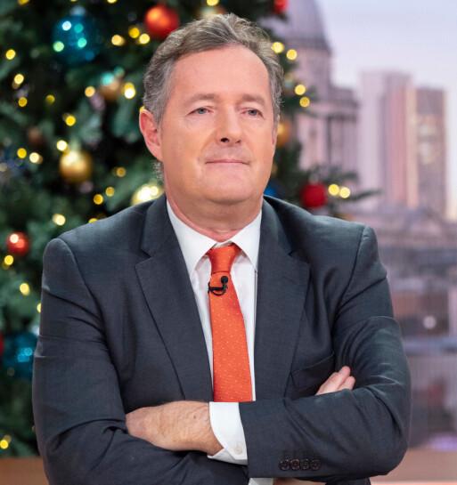 <strong>SPARKER FRA SEG:</strong> Piers Morgan holder ikke tilbake i sin omtale av hertuginne Meghan. Foto: NTB scanpix