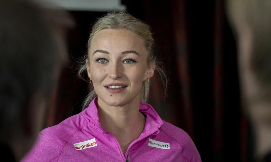 KAPTEINEN: Stine Bredal Oftedal er kaptein for det norske håndballandslaget. Til Se og Hør forteller hun om rollen. Foto: NTB Scanpix
