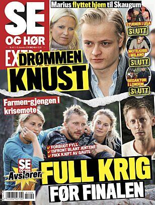 HELE SAKEN: Det er i ukens Se og Hør Extra at Marius Borg Høibys tapte jobb omtales. Foto: Faksimile fra Se og Hør