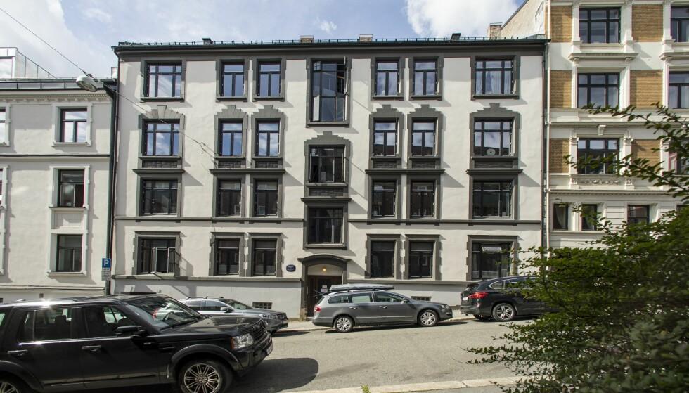 STORTRIVES: For fire år siden flyttet Katarina Flatland og ektemannen Harald Dobloug sammen i en stor leilighet på Majorstuen i Oslo. Foto: Espen Solli / Se og Hør