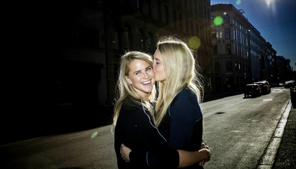 FÅR STØTTE: Tonje Frøystad Garvik og Lene Sleperud deltok på «Farmen» sammen. Foto: Nina Hansen / Dagbladet
