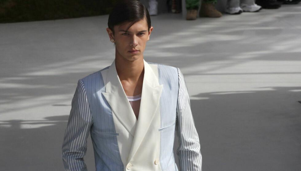 <strong>ROJAL MODELL:</strong> Prins Nikolai har blitt en ettertraktet modell de siste årene, og har markert seg internasjonalt på catwalken. Foto: NTB Scanpix