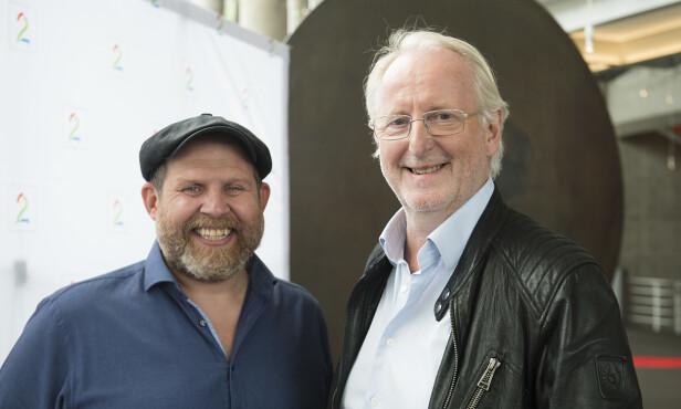 GUTTA I RØYKEN: Truls Svendsen og Eyvind Hellstrøm skaper god TV-underholdning med deres andre sesong av «Truls à la Hellstrøm». Foto: NTB Scanpix