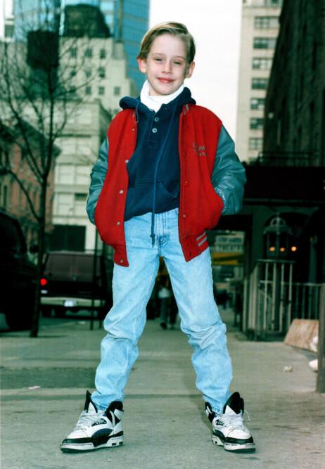 <strong>STORSJARMØR:</strong> Macaulay Culkin smeltet mange hjerter som barn. Foto: NTB Scanpix