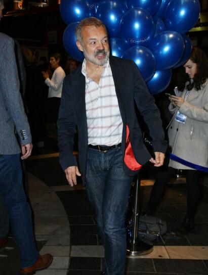 - NÆRMEST ALKOHOLIKER: Graham Norton har erkjent at han dro på møter for Anonyme Alkoholikere. Foto: NTB Scanpix