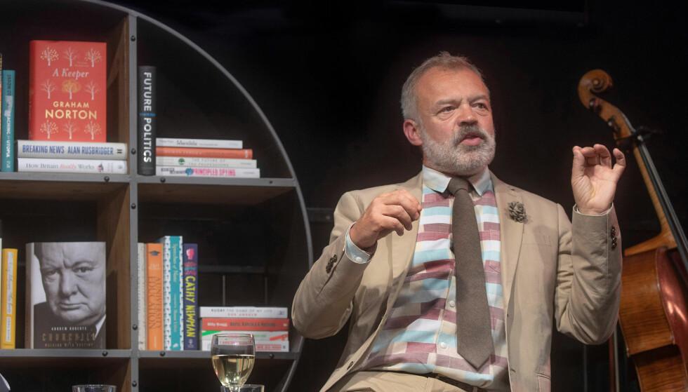 GA UT BOK: Graham Norton har åpnet opp om alkoholinntaket i sin selvbiografi fra 2014. Foto: NTB Scanpix