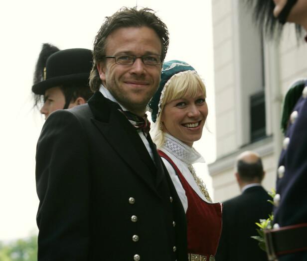 FORLOVET: Marian var sammen med Kåre Conradi i åtte år før de brøt forlovelsen i 2007. Her sammen i 2005. Foto: NTB Scanpix