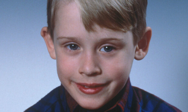 <strong>I 1990:</strong> Macaulay Culkin som Kevin McCallister. Foto: Sipa USA / NTB Scanpix