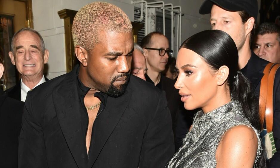 NOK ER NOK: Kim Kardashian skal føle seg presset til å forsvare ektemannen Kanye West. Nå er hun lei. Foto: NTB Scanpix