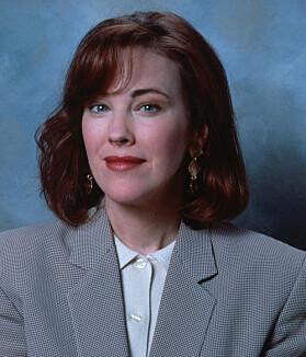 <strong>I 1990:</strong> Catherine O'Hara slik hun så ut da «Alene hjemme» ble spilt inn for over 25 år siden. Foto: Sipa USA / NTB Scanpix