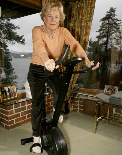 POPULÆR: Grete Roede brukte store deler av sitt liv på å få folk i form. Privat kjempet hun seg gjennom mange år med kreftsykdom. Her i oktober 2017. Foto: Elisabeth Sperre Alnes / Dagbladet
