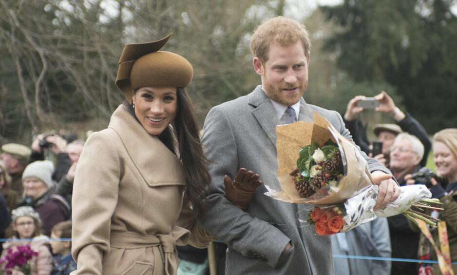 <strong>SPESIELLE TRADISJONER:</strong> Hertuginne Meghan fikk en forsmak på julefeiring som kongelig i fjor. I år må derimot hertuginnen gi en innføring til moren, Doria Ragland, som trolig skal ta del i feiringen for første gang. Foto: NTB Scanpix