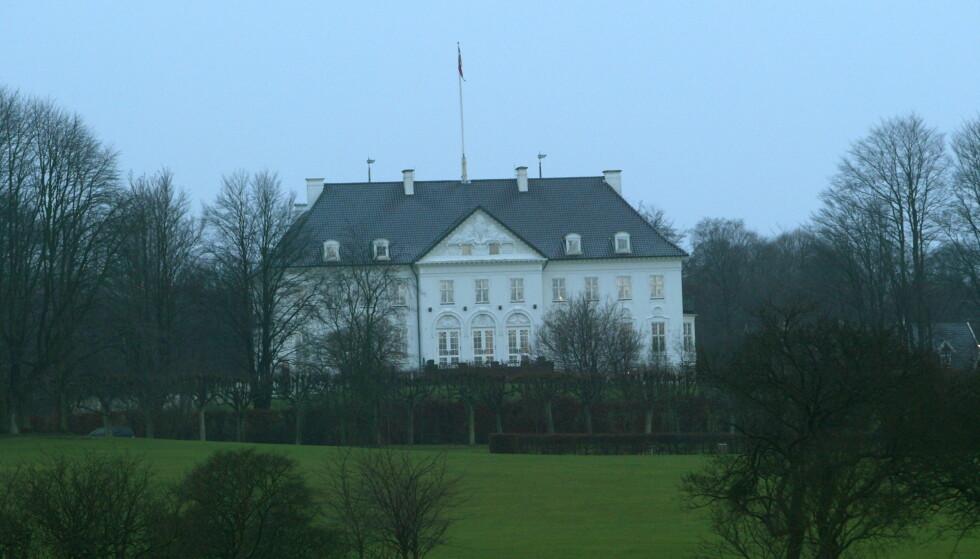 <strong>JULESLOTTET:</strong> I dette slottet feirer kongefamilien tradisjonen tro jul. Foto: NTB scanpix