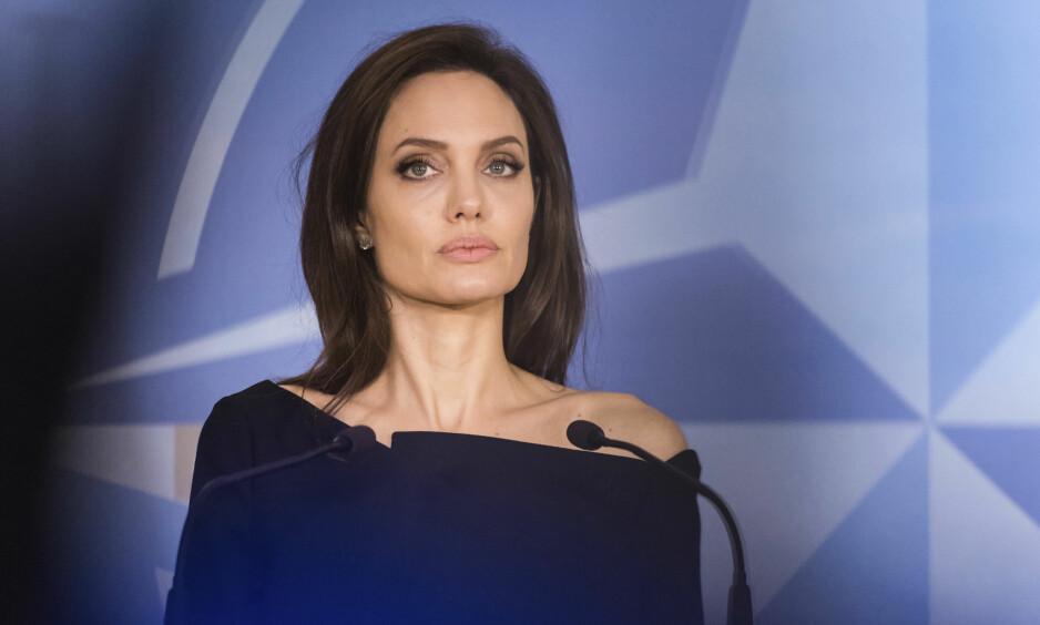 PRESIDENT?: Angelina Jolie stilte nylig til et intervju med BBC. Der fikk hun spørsmål om hvorvidt hun så for seg en politisk fremtid. Svaret hennes gjør at mange nå tror hun kanskje skal stille til valg. Foto: NTB scanpix