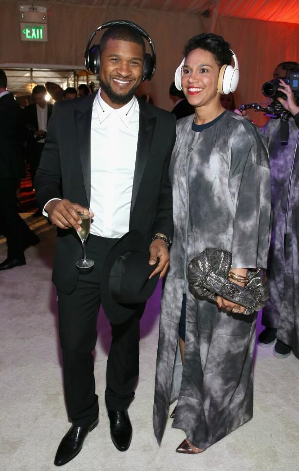 SKILT: Etter ett år som separerte er Usher og Grace Miguel omsider snart skilt. Foto: NTB Scanpix