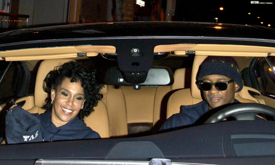 SKILT: Ett år etter at Usher og Grace Miguel separerte seg er skilsmissepapirene i orden. Nå er de begge offisielt skilt. Foto: NTB Scanpix