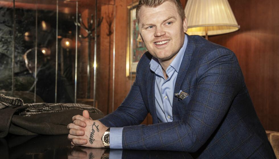 FREMOVERLENT: Se og Hør møtte John Arne Riise på Grand Hotel tidligere i desember. Da fortalte han åpenhjertig om året som er gått. Foto: Hans Arne Vedlog / Dagbladet