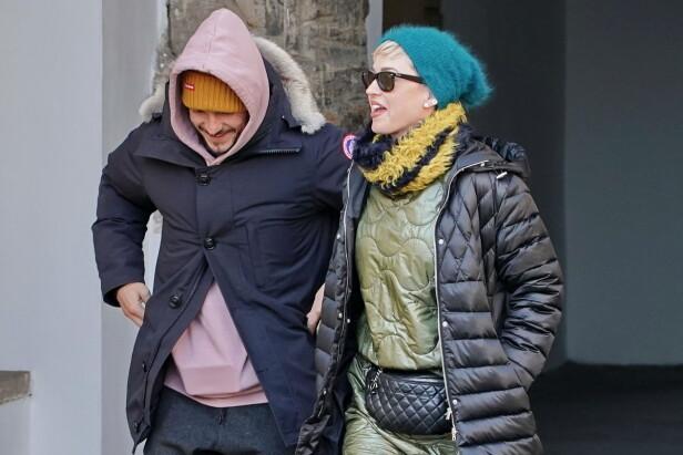 UT PÅ TUR: Katy og Orlando var blant annet på ferie sammen i Praha tidligere i år. Foto: NTB Scanpix