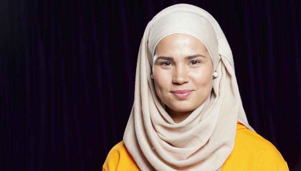 HOLDER SEG UNNA: Iman Meskini avslører at negative kommentarer påvirker henne. Derfor har hun tatt flere grep for å slippe å forholde seg til det. Foto: NTB Scanpix