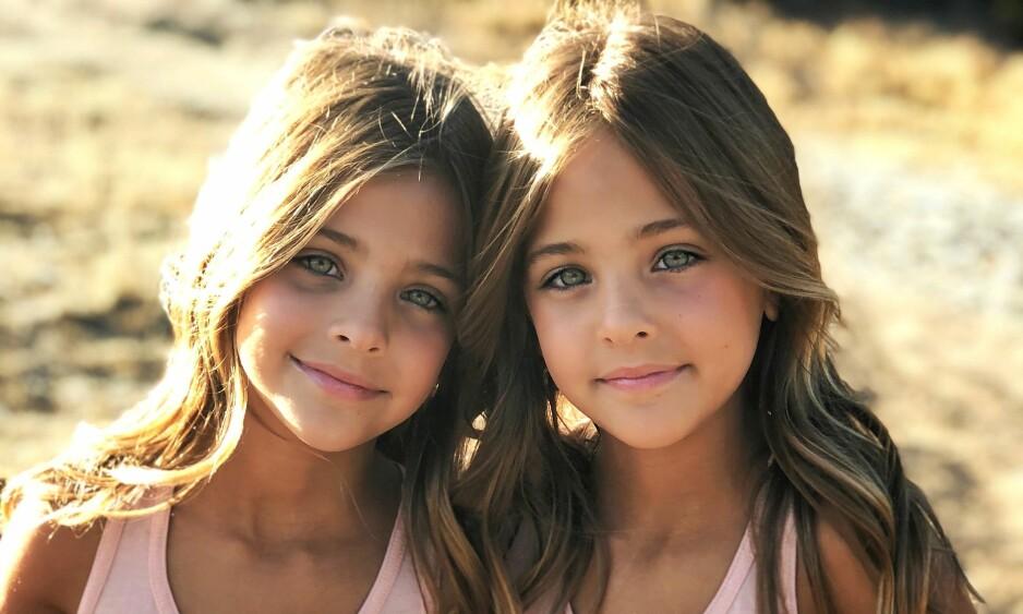 TAR VERDEN MED STORM: I løpet av knappe to år har tvillingene Ava og Leah Clements fått nesten en million følgere i sosiale medier. Se og Hør har tatt en prat med dem og moren. Foto: Privat / Jaqi Clements