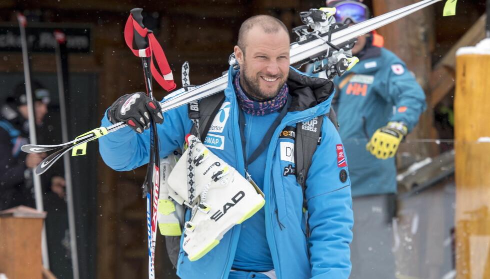 OPERERT: Aksel Lund Svindal startet året med en operasjon. Her avbildet i november. Foto: NTB Scanpix