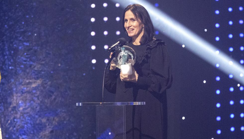 <strong>VANT PRIS:</strong> Marit hentet hjem prisen for Årets kvinnelige utøver. Foto: Andreas Fadum / Se og Hør