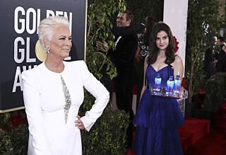 Slakter flaske-stuntet under Golden Globe