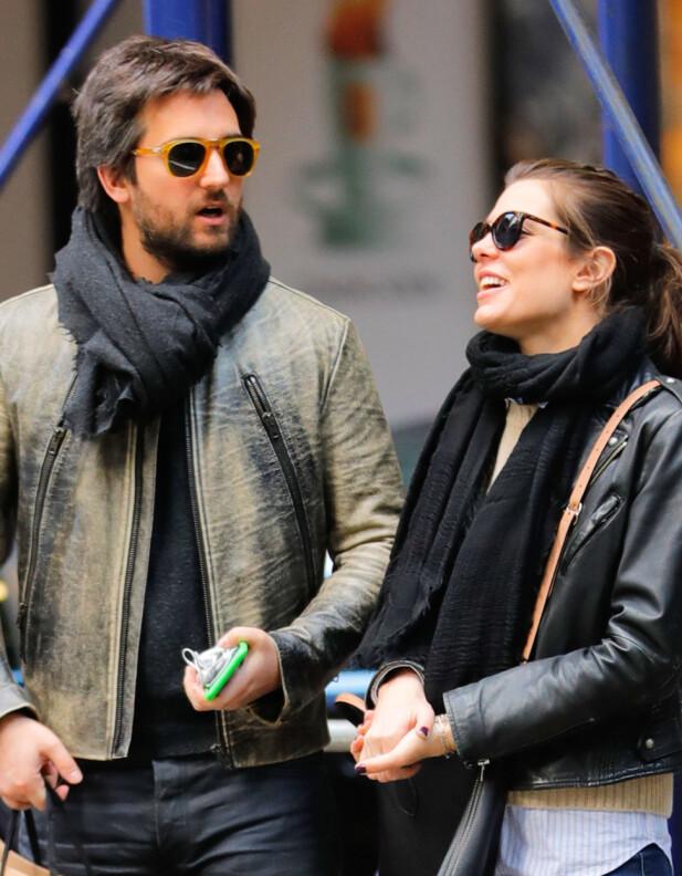 FALSKE RYKTER: Charlotte og Dimitri er fortsatt sammen, og er rasende over ryktene som har blitt spredt om forholdet deres. Foto: NTB scanpix