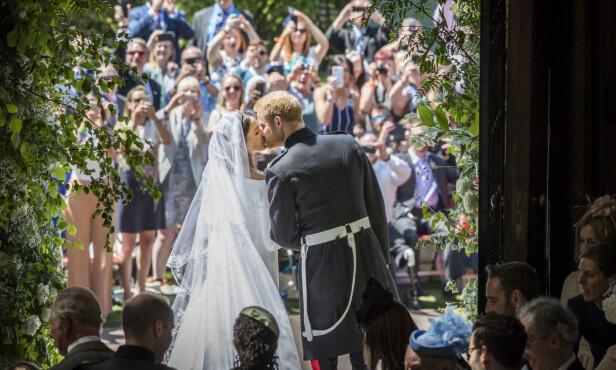 BRYLLUP: Like før prinsebryllupet i mai, signerte prins Harry og hertuginne Meghan leiekontrakt på en hytte i Oxfordshire. Foto: NTB Scanpix