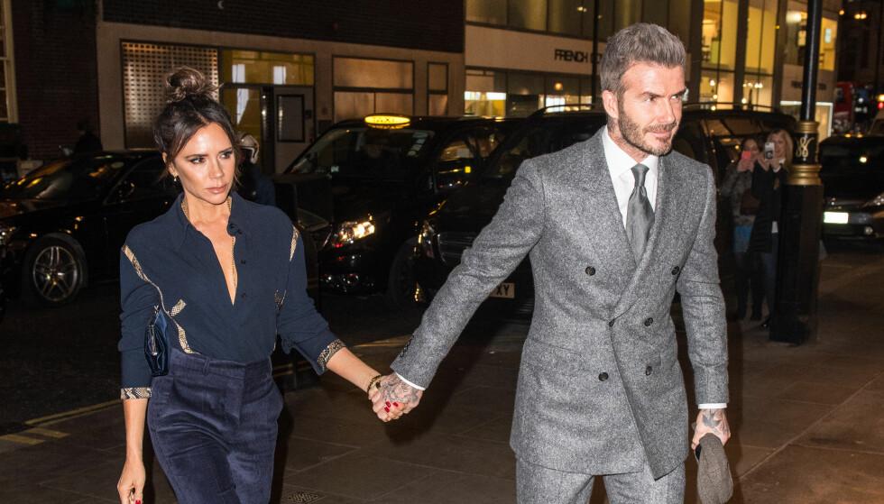 DYRE VANER: At ekteparet Beckham har nok til salt i grøten, er ingen hemmelighet. Av og til blir det riktignok for mye av det gode for fansen. Foto: NTB Scanpix