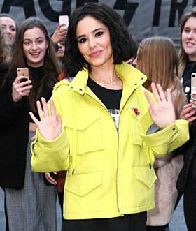 <strong>MØTTE FANSEN:</strong> Da Cheryl møtte fansen i London i november, var hun nesten ikke til å kjenne igjen. Foto: NTB scanpix