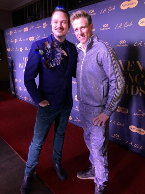 DISCOKULE: Tore Petterson omtaler Jan Gunnar som kveldens discokule. Foto: Julie Solberg / Se og Hør