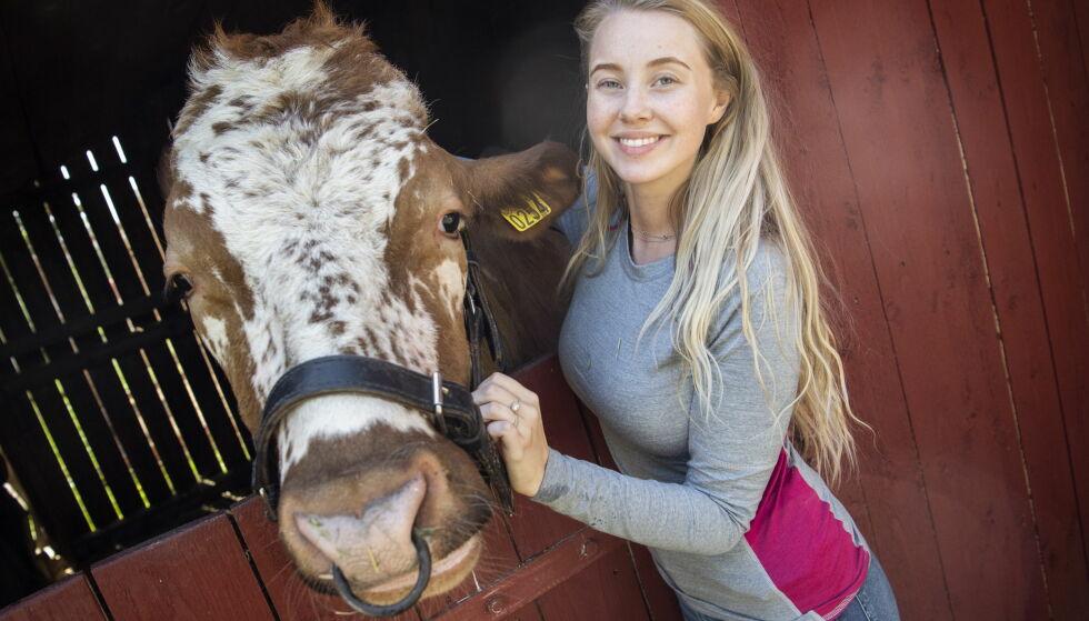 SAVNET 2018: Martine Lunde blir snart å se i den nye sesongen av «Farmen kjendis». Foto: Lars Eivind Bones / Dagbladet