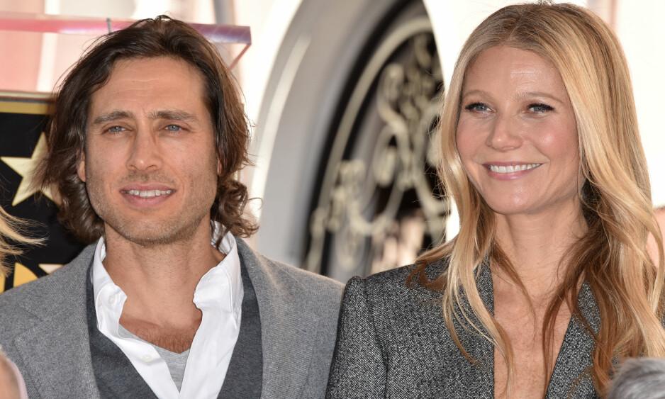 NYGIFTE: Brad Falchuk og Gwyneth Paltrow giftet seg i høst. Foto: NTB Scanpix