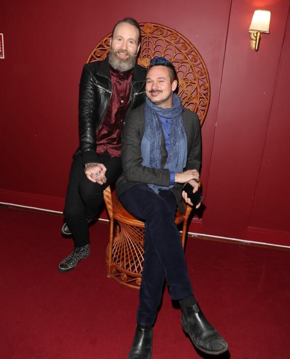 HUMORPRISEN: Adam Schjølberg og Tore Petterson. Foto: Andreas Fadum / Se og Hør