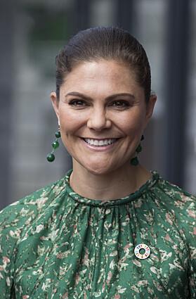 <strong>NÅ:</strong> Victoria har trolig fått Botox innsprøytet i pannen. Foto: NTB Scanpix