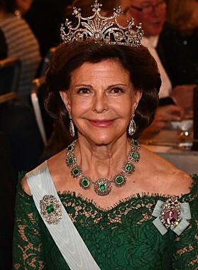 <strong>NÅ:</strong> Den britiske legen mener Silvia trolig har Botox i ansiktet. Foto: NTB Scanpix