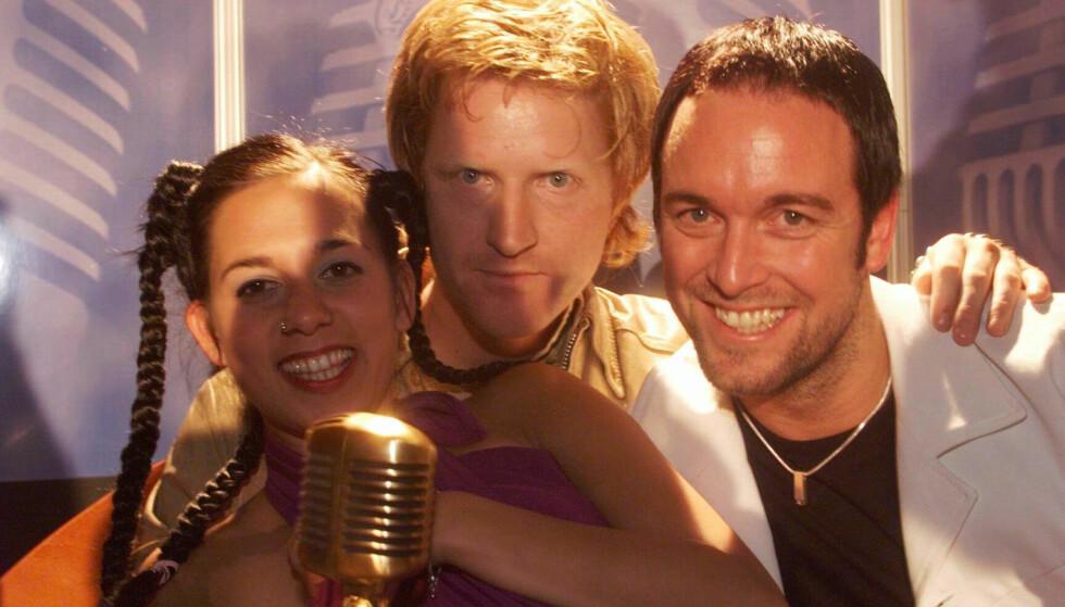 <strong>DEN GANG DA:</strong> Da musikkprisen HitAwards ble utdelt i Oslo Spektrum i 1999, ble D'sound kåret til årets norske gruppe. Foto: NTB Scanpix