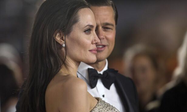 <strong>EKSER:</strong> Brad Pitt og Angelina Jolie var et par i tolv år, og ektefeller i to. Nå skal førstnevnte angivelig ha funnet lykken med nok en skuespiller, nemlig Charlize Theron. Foto: NTB Scanpix