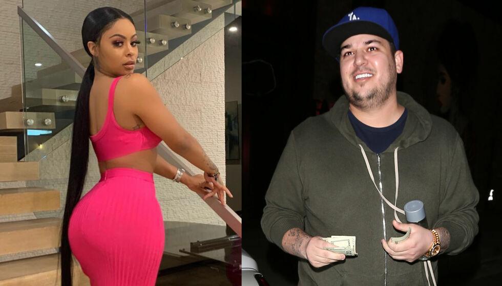 STOPPES: Alexis Skyy og Rob Kardashian skal angivelig være i et forhold. Det betyr imidlertid ikke at hun får tilgang på alle aspektene av livet hans. Foto: Instagram / NTB scanpix