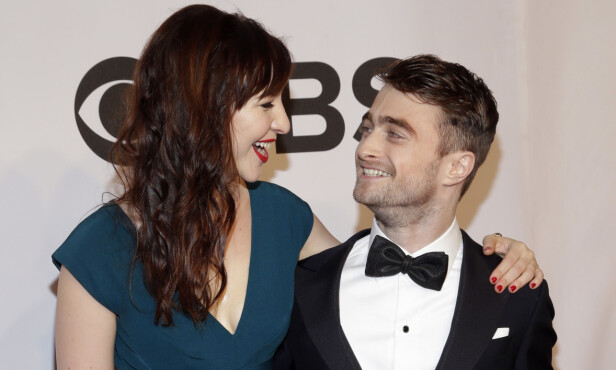 EDRU: Den tidligere «Harry Potter»-stjernen Daniel Radcliffe holder seg edru takket være kjæresten. Foto: NTB Scanpix