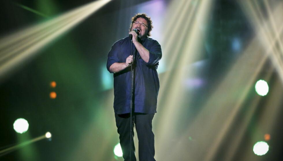<strong>TILBAKE PÅ SCENEN:</strong> I 2013 var Hans-Erik Dyvik Husby blant deltakerne i Melodi Grand Prix med sangen «No One». Nå gjør han comeback! Foto: NTB Scanpix