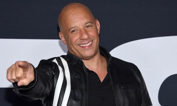 <strong>POPULÆR:</strong> Vin Diesel (51) er en av de mest suksessfulle skuespillerne i Hollywood. Foto: NTB Scanpix