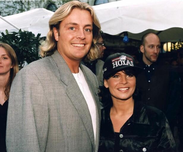 HETT PAR: Runar og Carola var gift i ti år. Her sammen i 1997. Foto: NTB Scanpix