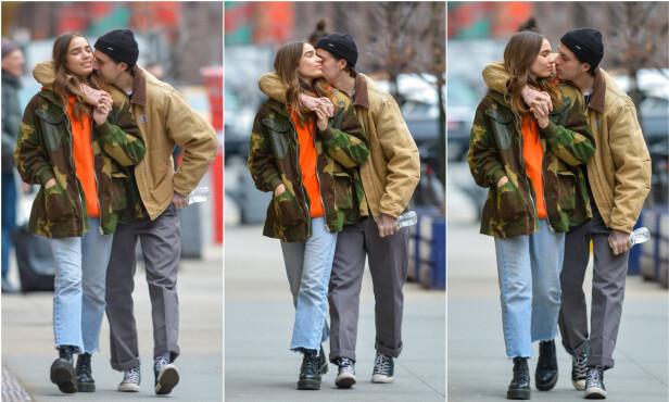 <strong>KJÆRLIGE:</strong> Paret er ikke redd for å vise kjærligheten sin offentlig, og blir gjerne sett mens de holder rundt hverandre. Foto: NTB Scanpix
