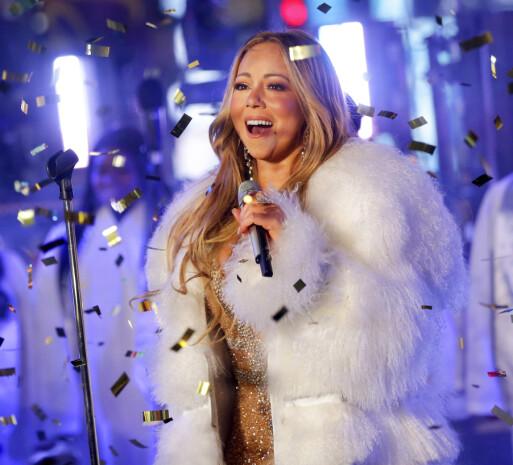 STJERNE: Mariah Carey er en av verdens største sangstjerner. Her i 2017. Foto: NTB Scanpix