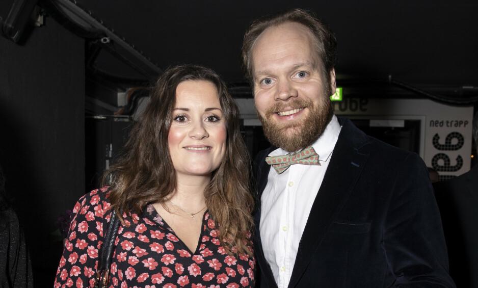 IMPONERT: Jon Niklas Rønning er imponert over kjæresten Kristine Riis under graviditeten, og i april får de en liten sønn. Foto: Andreas Fadum/ Se og Hør