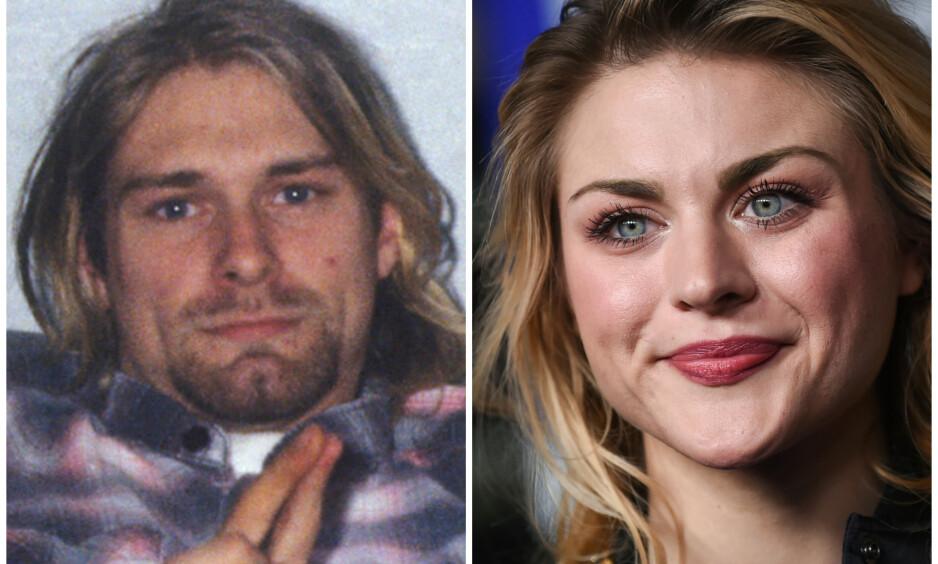 <strong>ENORM FORMUE:</strong> Frances Bean Cobain arvet formuen til sin berømte pappa Kurt Cobain da han gikk bort i 1994. Det har ikke bare vært enkelt. Foto: NTB Scanpix
